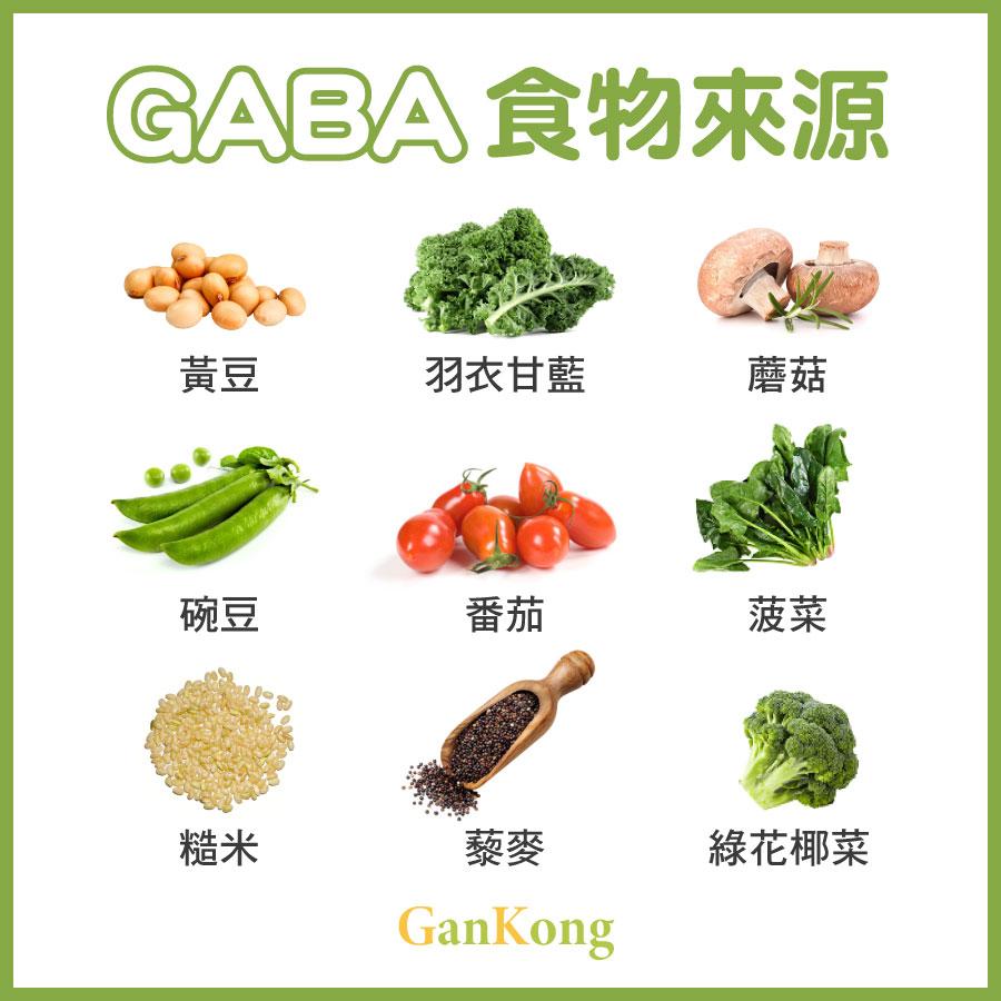 如何從食物當中攝取GABA