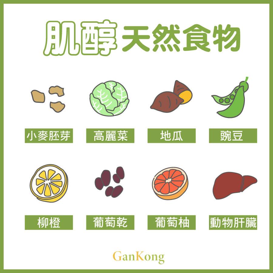肌醇天然食物
