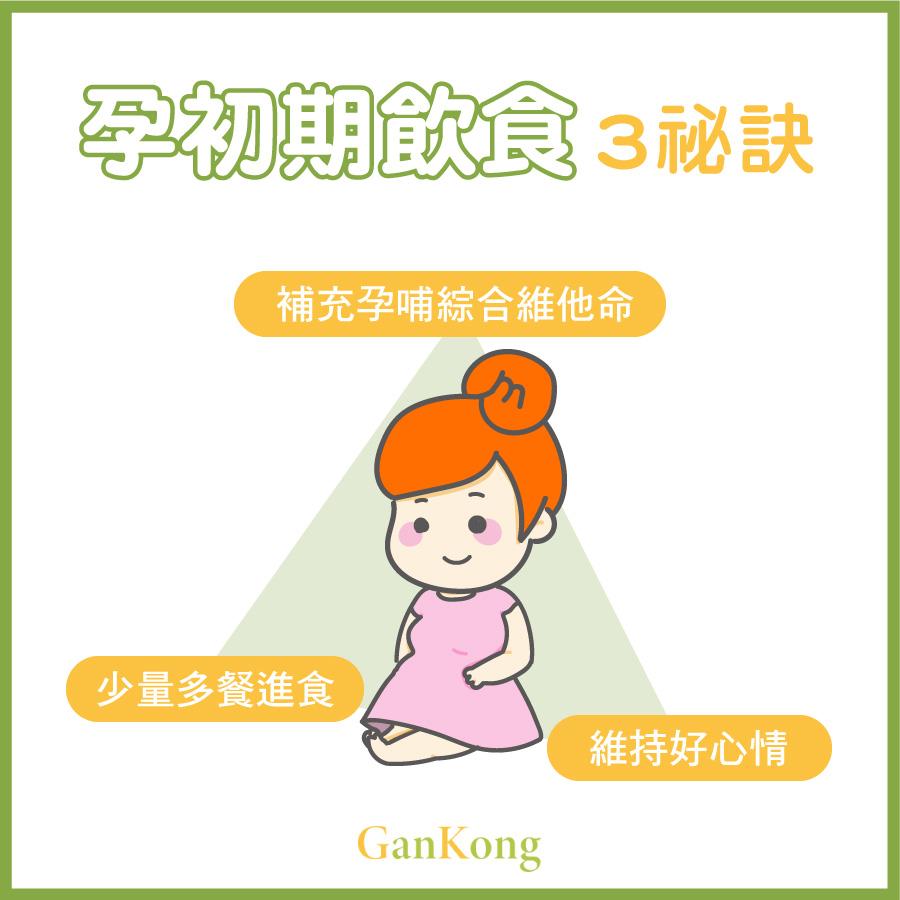 孕初期飲食秘訣