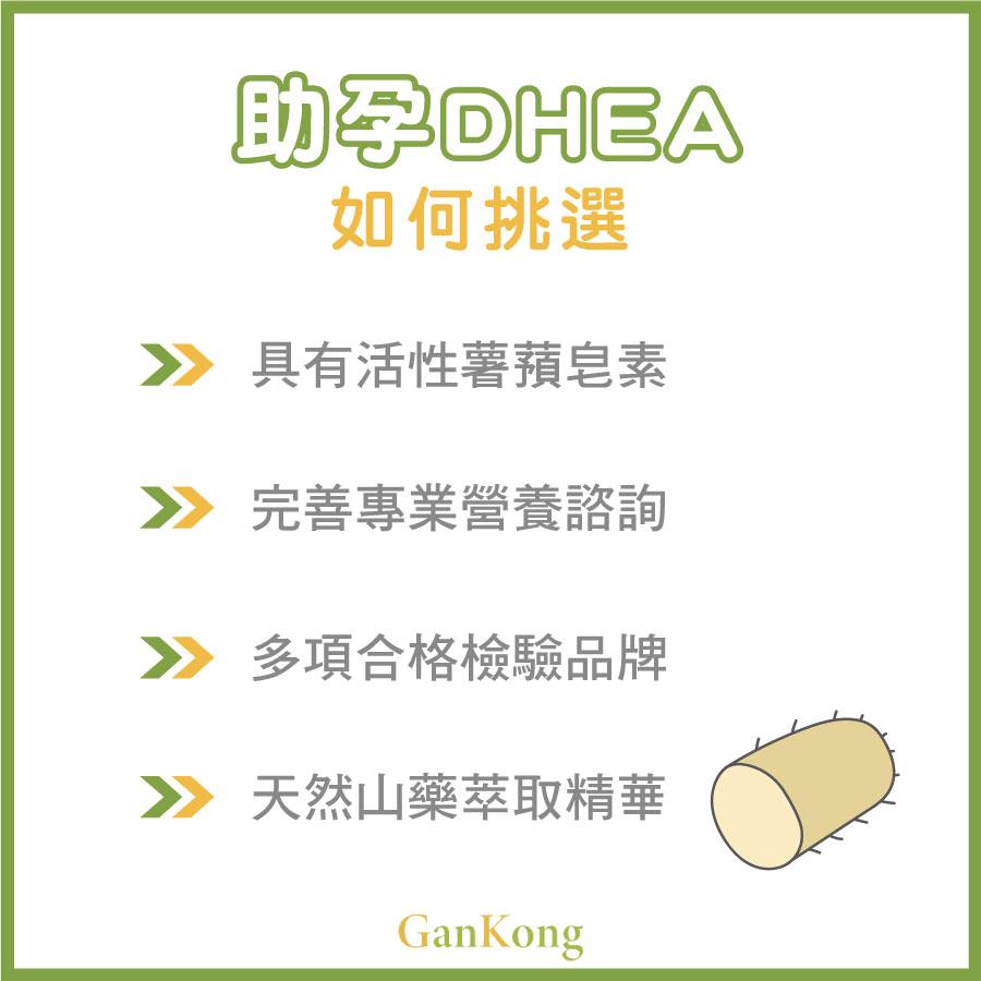 助孕DHEA如何挑選