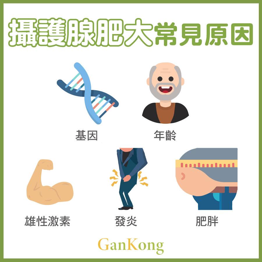 攝護腺肥大常見原因